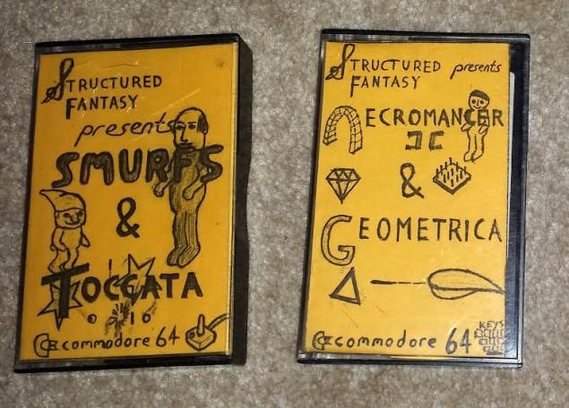 Carl Muller Cassettes Smurfs & Necromancer