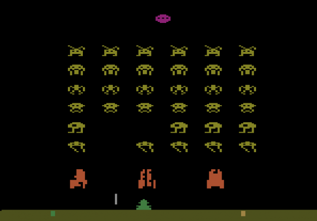 space invaders Atari 2600